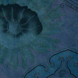 Kantha Mini Fuzz – Blue Rose 2