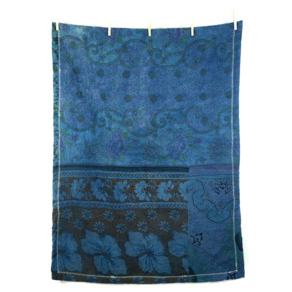 Kantha Mini Fuzz – Blue Rose II 1