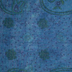 Kantha Mini Fuzz – Blue Rose II 2